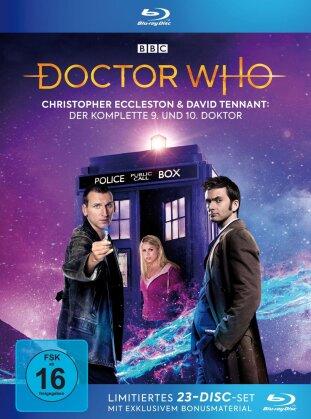 Doctor Who - Die Christopher Eccleston und David Tennant Jahre: Der komplette 9. und 10. Doktor (Limited Edition, 21 Blu-rays)
