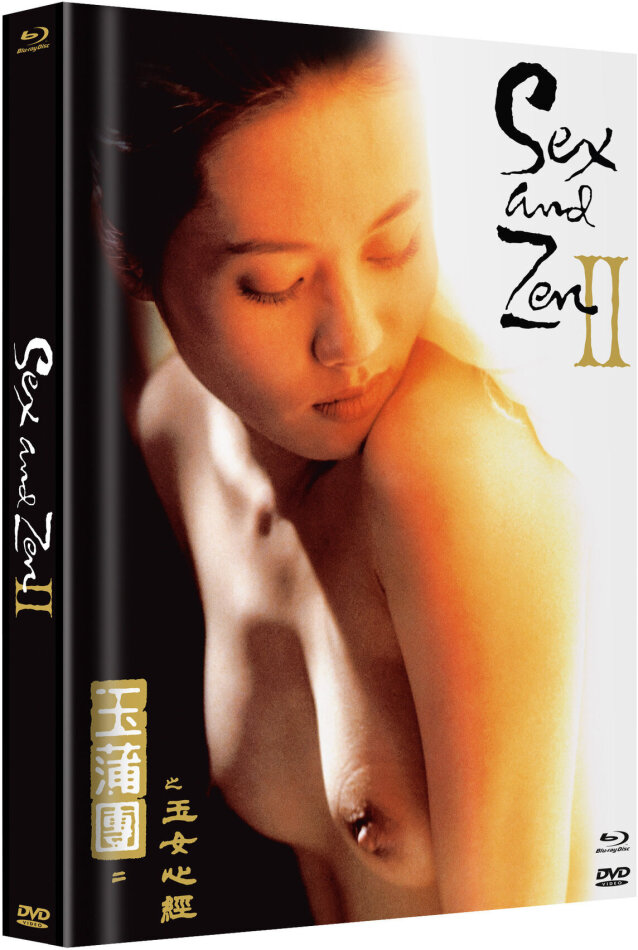 Sex and Zen 2 (1996) (Cover E, Limited Edition, Mediabook, Uncut, Blu-ray + DVD)