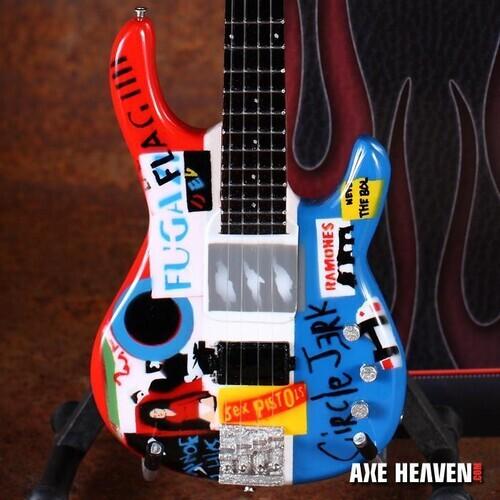 Flea Red Hot Chili Peppers Mini Bass Guitar