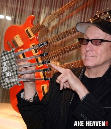 Rick Nielsen Cheap Trick Hamer 5 Neck Mini Guitar