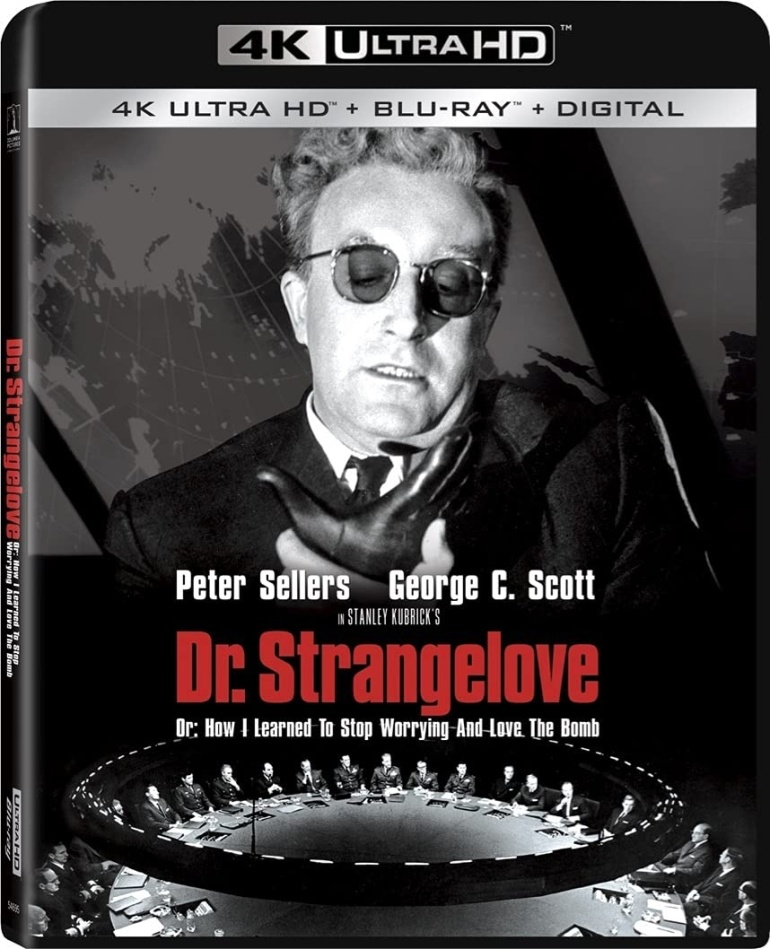 Dr. Strangelove - Or How I Learned To Stop Worrying And Love The Bomb (1964) (4K Ultra HD + Blu-ray)