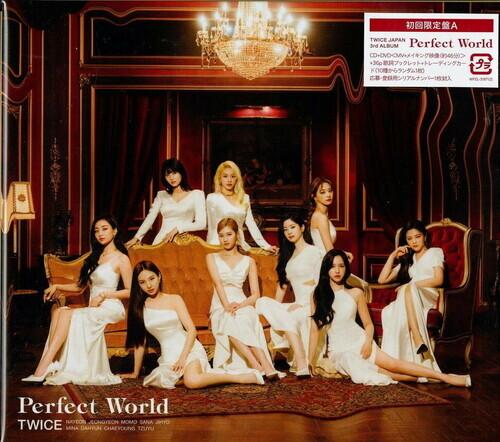 Twice (K-Pop) - Perfect World (Type A, Japan Edition, CD + DVD)