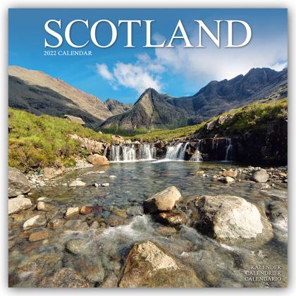 Scotland - Schottland 2022 - 16-Monatskalender