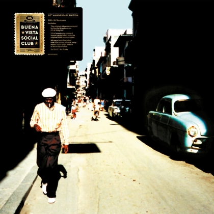 Buena Vista Social Club - --- (2021 Reissue, Boxset, 25th Anniversary Edition, 2 LPs + 3 CDs)