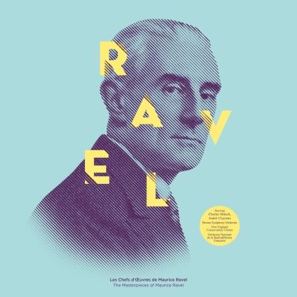 Maurice Ravel (1875-1937) - Les Chefs D'ouvres De Ravel (LP)