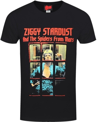David Bowie: Ziggy Stardust and the Spiders from Mars - Men's T-Shirt