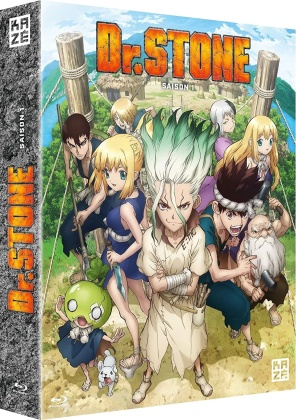 Dr. Stone - Saison 1 (4 Blu-ray)