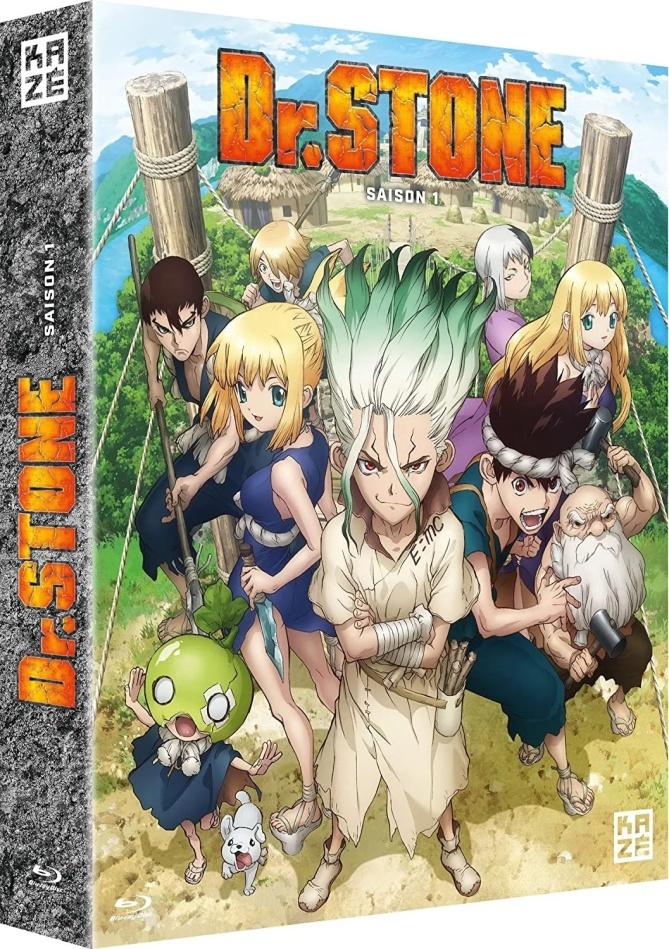 Dr. Stone - Saison 1 (4 Blu-rays)