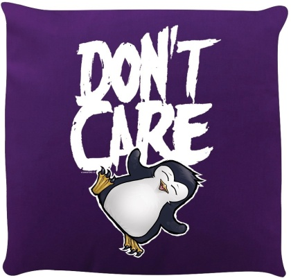 Psycho Penguin: Don't Care - Cushion