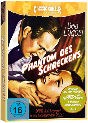 Phantom des Schreckens (1941) (Classic Chiller Collection, s/w, Limited Edition)