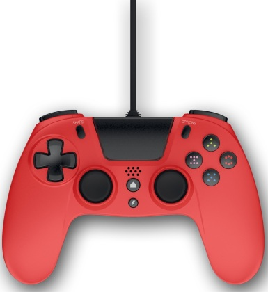 Gioteck - VX4 Wired Controller - red