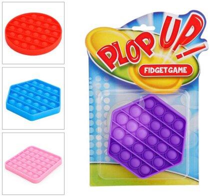 Plop Up! Fidget Game, Klassik, 3-fach sortiert - 1 Stück (Kinderspiel)