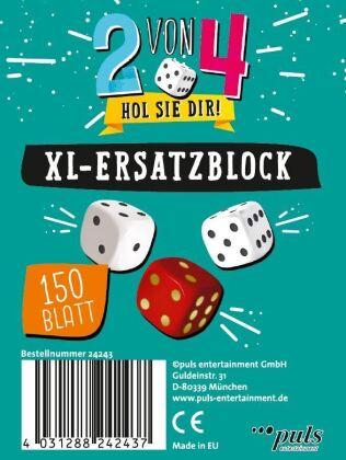 2 von 4 - Der XL Ersatzblock (Spiel-Zubehör)