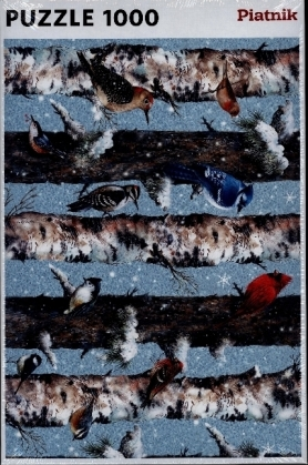 Wintervögel (Puzzle)