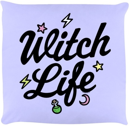 Witch Life - Lilac Cushion