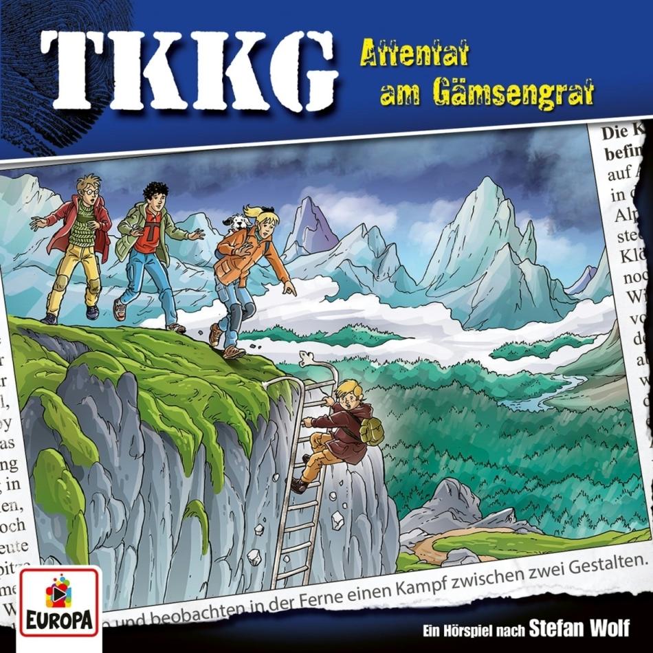 TKKG - 220/Attentat am Gämsengrat