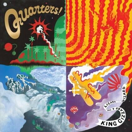 King Gizzard & The Lizard Wizard - Quarters (2021 Reissue, KGLW)