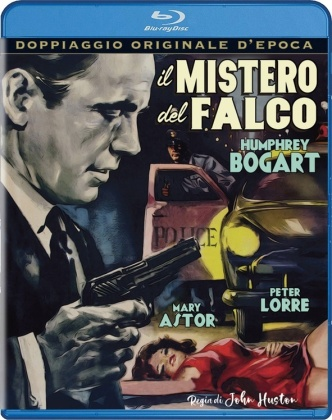 Il mistero del falco (1941) (Doppiaggio Originale D'epoca, n/b)