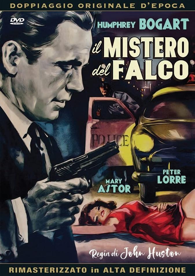 Il mistero del falco (1941) (Doppiaggio Originale D'epoca, HD-Remastered, s/w, Neuauflage)