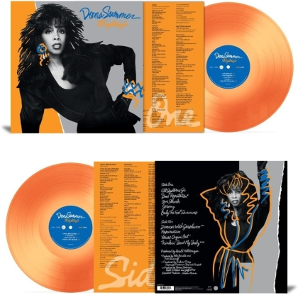 Donna Summer - All Systems Go (2021 Reissue, Driven by the Music, Translucent Orange Vinyl, LP)