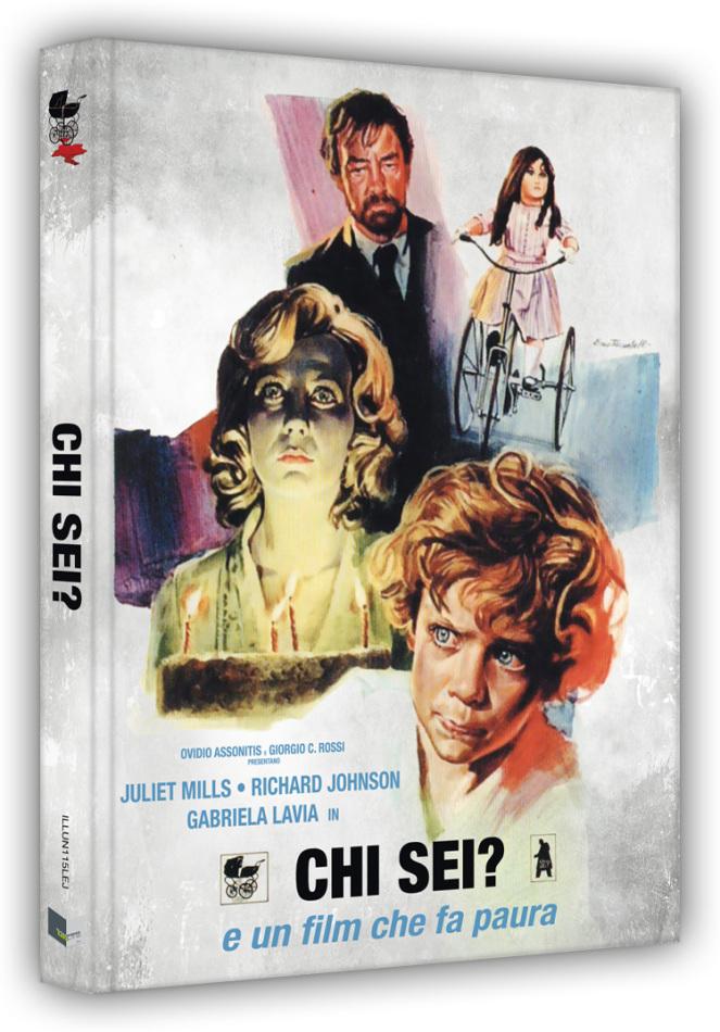 Chi sei? - Vom Satan gezeugt (1974) (Cover J, Limited Edition, Mediabook, Blu-ray + DVD)