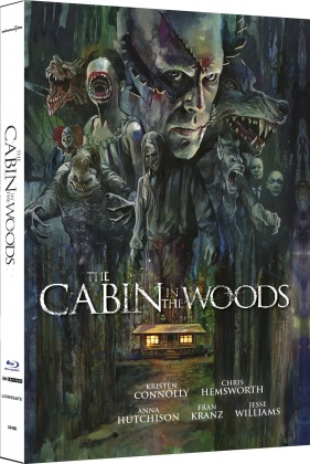 The Cabin in the Woods (2012) (Cover B, Limited Edition, Mediabook, 4K Ultra HD + Blu-ray)