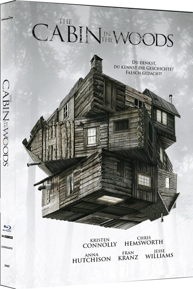 The Cabin in the Woods (2012) (Cover C, Limited Edition, Mediabook, 4K Ultra HD + Blu-ray)