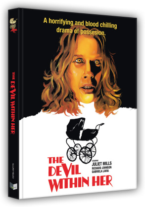 The devil within her - Vom Satan gezeugt (1974) (Cover C, Limited Edition, Mediabook, Blu-ray + 4K Ultra HD)
