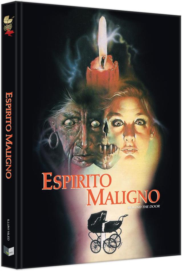 Espirito Maligno - Vom Satan gezeugt (1974) (Cover D, Limited Edition, Mediabook, Blu-ray + DVD)