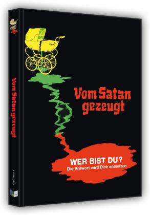 Vom Satan gezeugt (1974) (Cover E, Limited Edition, Mediabook, Blu-ray + DVD)