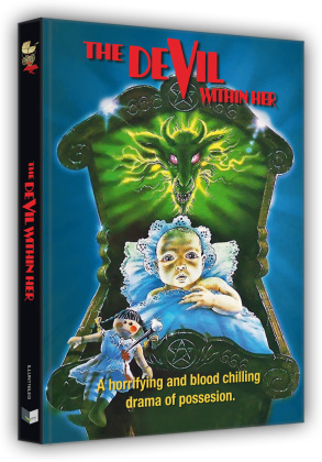 The devil within her - Vom Satan gezeugt (1974) (Cover G, Limited Edition, Mediabook, Blu-ray + DVD)
