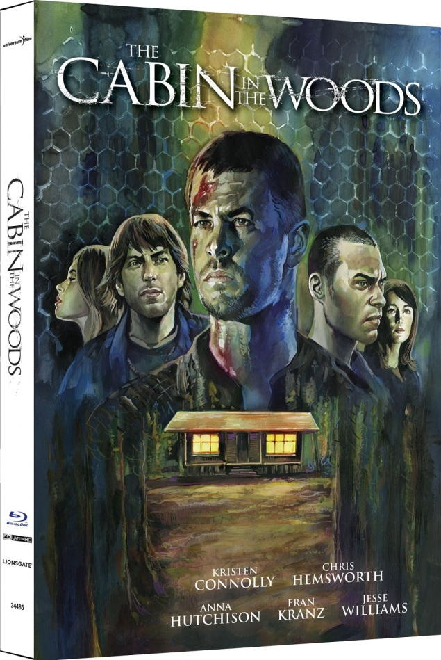 The Cabin in the Woods (2012) (Cover A, Limited Edition, Mediabook, 4K Ultra HD + Blu-ray)