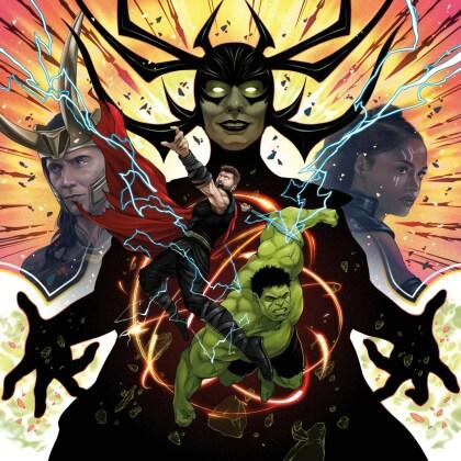 Mark Mothersbaugh - Thor - Ragnarok (2021 Reissue, Mondo, Green Vinyl, 2 LPs)