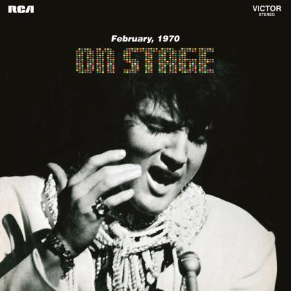 Elvis Presley - On Stage - Live 1969-1970 (2021 Reissue, Black Vinyl, Music On Vinyl, LP)