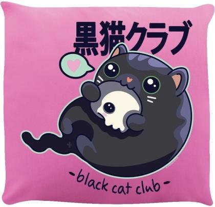 Kawaii Coven: Black Cat Club - Cushion
