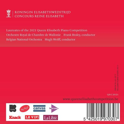 Queen Elisabeth Competition - Piano 2021 (4 CDs)