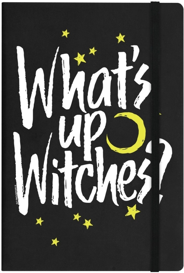 What's Up Witches? - A5 Notebook