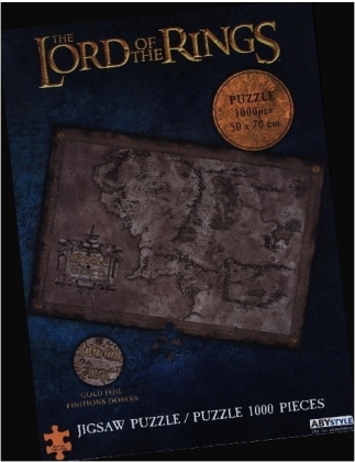 ABYstyle - Herr der Ringe Middle Earth Puzzle