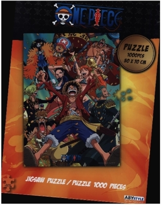 ABYstyle - One Piece Straw Hat Crew Puzzle