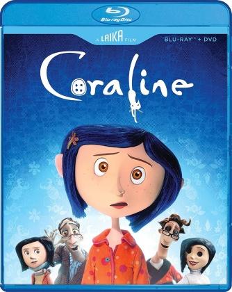 Coraline (2009) (Laika Studio Edition, Blu-ray + DVD)