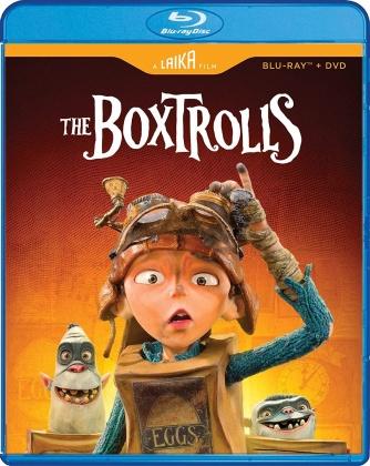 The Boxtrolls (2014) (Laika Studio Edition, Blu-ray + DVD)