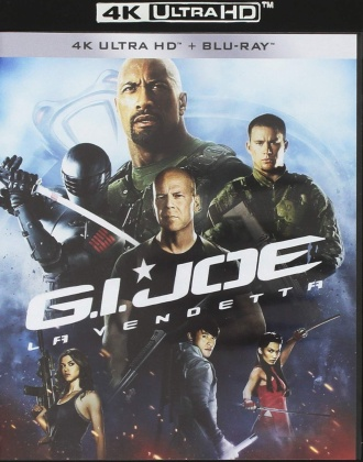 G.I. Joe - La vendetta (2012) (Neuauflage, 4K Ultra HD + Blu-ray)