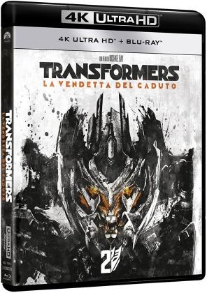 Transformers 2 - La Vendetta del Caduto (2009) (Riedizione, 4K Ultra HD + Blu-ray)