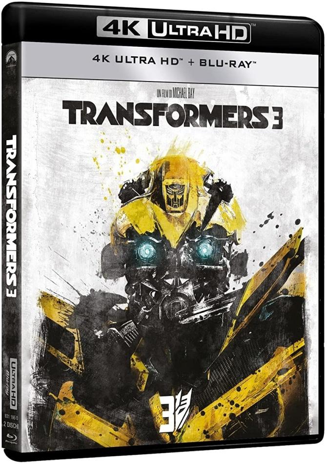 Transformers 3 (2011) (Neuauflage, 4K Ultra HD + Blu-ray)