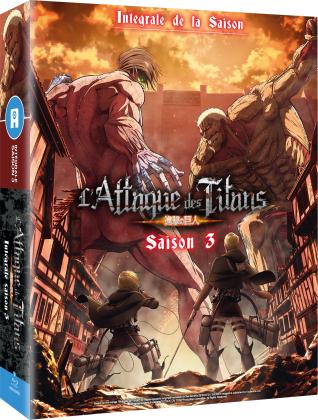 L'Attaque des Titans - Saison 3 - Intégrale