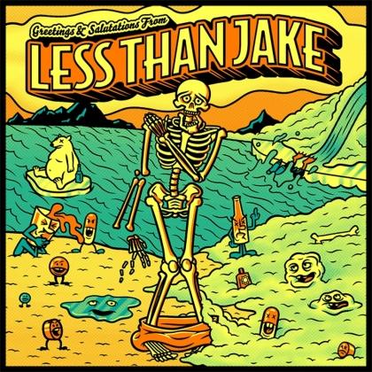 Less Than Jake - Greetings & Salutations (2021 Reissue, LP)