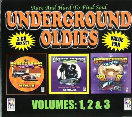 Undeground Oldies Valu Pak Volumes 1 2 3
