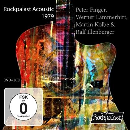 Peter Finger, Werner Lämmerhirt & Martin Kolbe - Rockpalast Acoustic 1979 (CD + DVD)