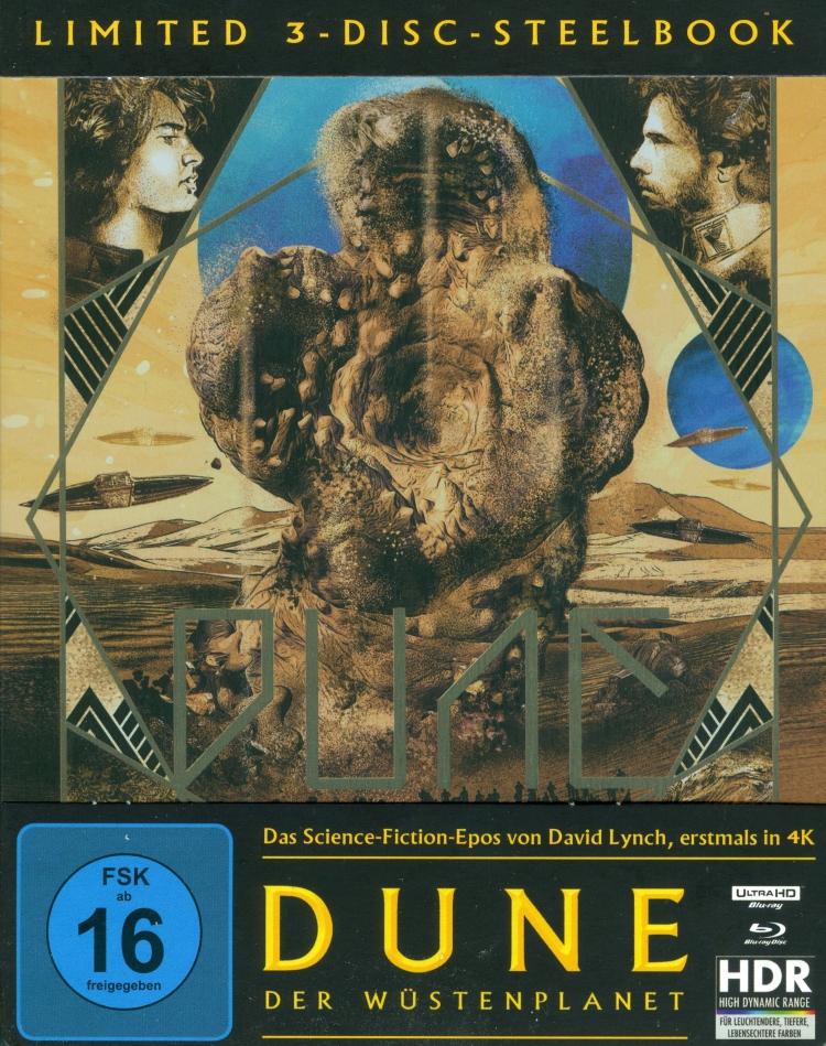 Dune - Der Wüstenplanet (1984) (Steelbook, 4K Ultra HD + 2 Blu-rays)