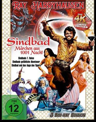 Ray Harryhausen - Sindbad, Märchen aus 1001 Nacht (3 Blu-rays)